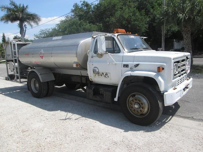 Used 1989 GMC 7000 Fuel Truck
