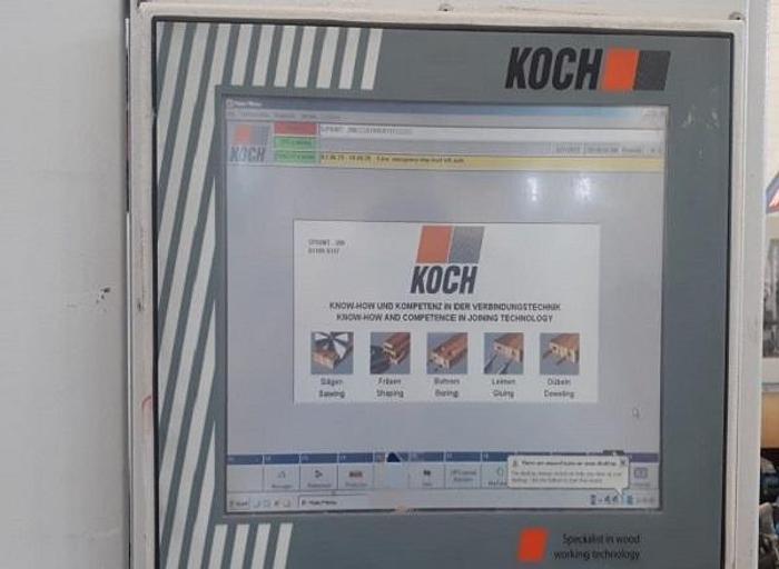 MDM005 2013 Koch Sprint 200 Foratrice/inseritrice di spine