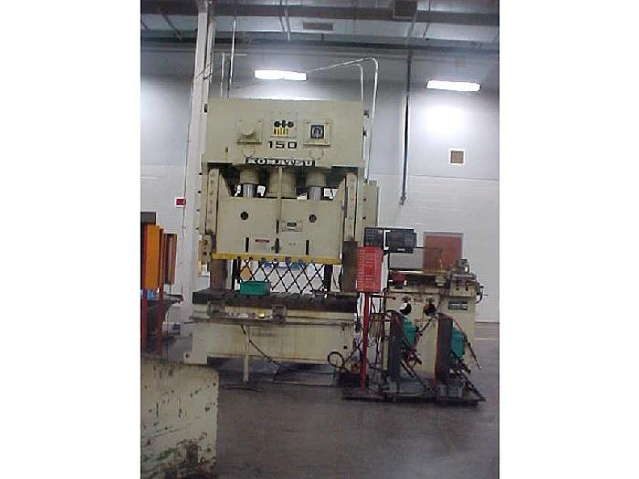 165 ton Komatsu 2pt. Gap Mechanical Press