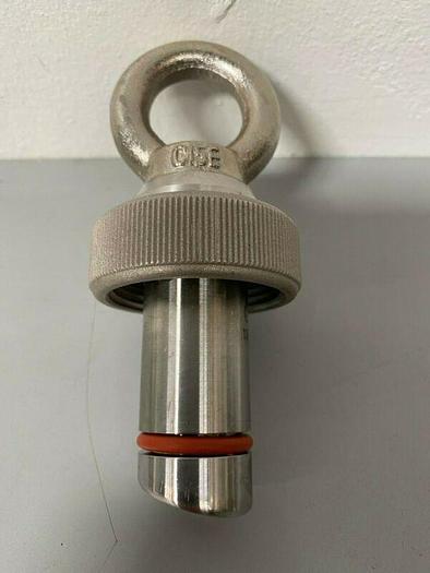 Used Mettler Toledo 007641047IG Blind Plug  Stainless Steel Tank Port Plug