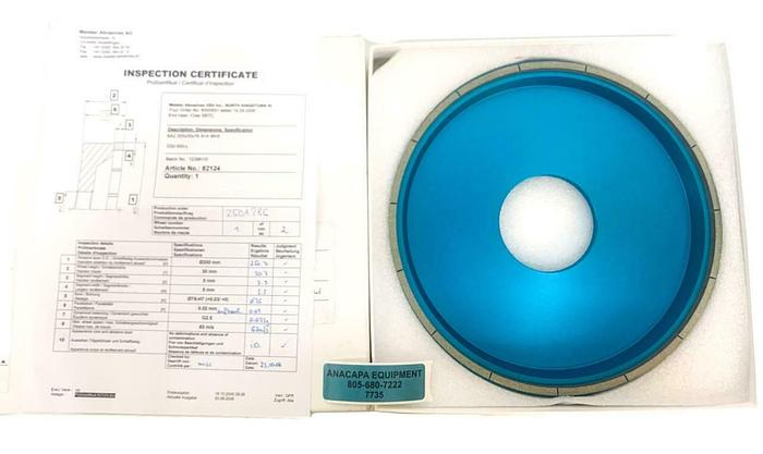 Meister Abrasives 550-205, Precision Grinding Wheel, D32-550-L, 82124 NEW(7735)W