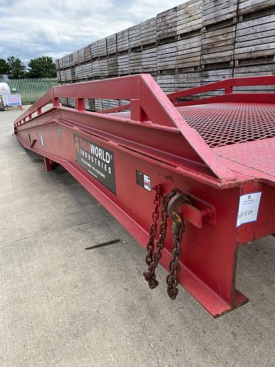 Used Loading Ramp