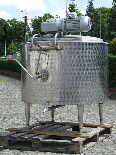 Used zbiornik procesowy 350 l