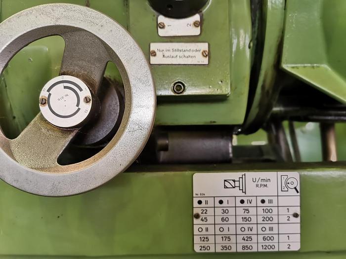 1983 Konsolfräsmaschine - universal RECKERMANN Kombi 1050