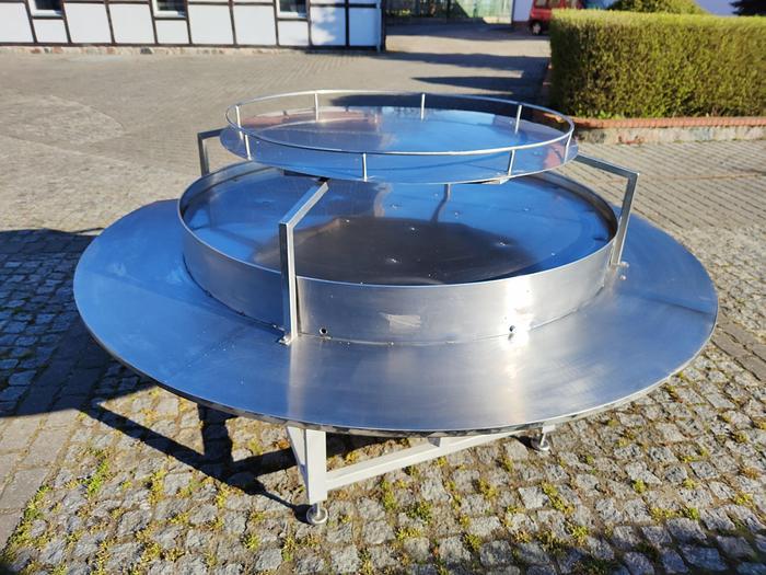 Używane Stół obrotowy(buforowy) nierdzewny