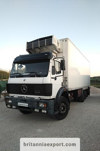 Used 1991 MERCEDES-BENZ SK 2435 V8 Twin Turbo 6X2 refrigerated