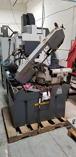 Used SWEET HYD-MECH DOUBLE COMPOUND MITERING BANDSAW