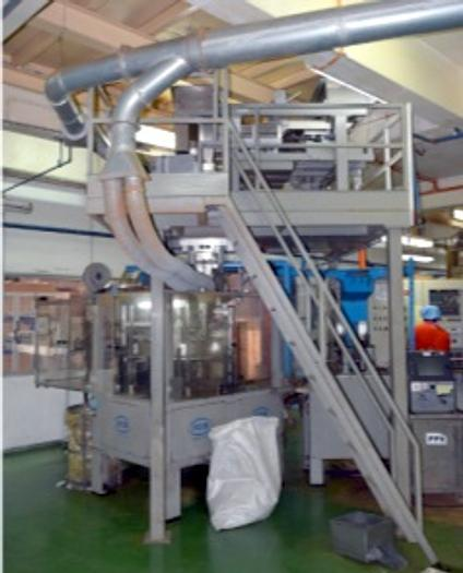 (3) ICA Aromapack FORM FILL SEAL MACHINES