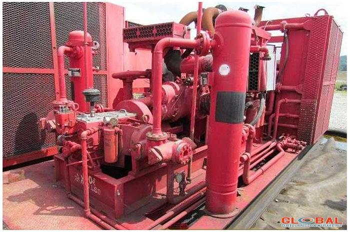 Used Item 0599 : Sullair 900/350 Air Compressor & Ariel JPG/2 Booster Combo