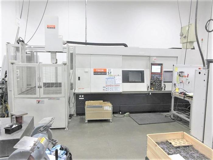 Used 2010 Mazak Integrex 200-IV ST w/ GL150F Gantry Loader