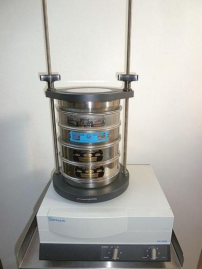 Used D 14971 E - Vibratory Sieve RETSCH AS 200