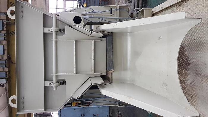2010 Furnace charging machine JOST model OUL 800/850 - 200 X 4000