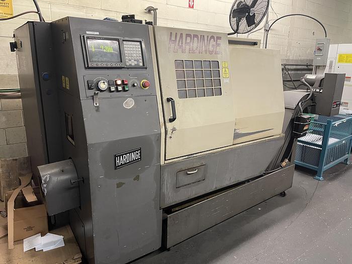 Used HARDINGE MODEL LC CNC LATHE