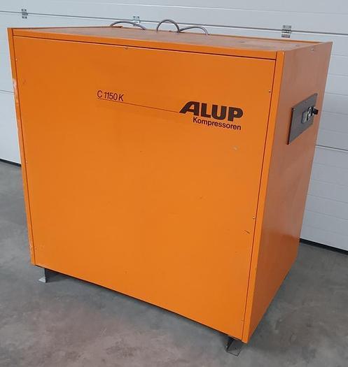 Gebraucht Schallgedämmter Schraubenkompressor ALUP C 1150 K