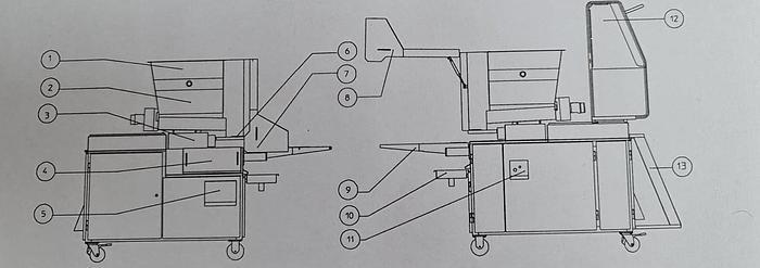 "Used Formierka ""Koppens VM 400 HSE"""