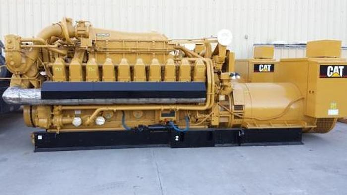 1.95 MW 2015 New Caterpillar G3520C Natural Gas Generator
