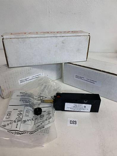 NEW CONTROMATICS BMS-1N HT 0898329  120V-AC 1/4IN NPT SOLENOID VALVE (LOT OF 3)