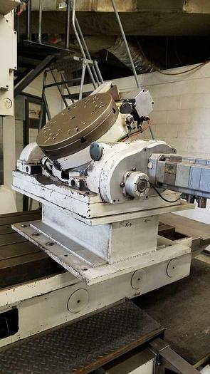"Used 16"" CNC Rotary Table Multi Axis Gimbal Multi Angle Machining"
