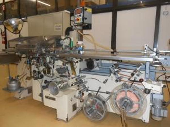 Used OTTO HANSEL CHOCOLATE NEAPOLITAN WRAPPING MACHINE