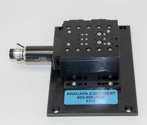 Used Maxon 339152 DC Motorized Translation Stage For Micromanipulators, 24V (8717)W