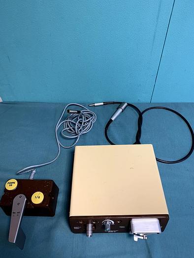 Gebraucht AESCULAP ELAN-E Chirurgiemotor GA 455 mit Fußschalter GA 139 und Biegewelle GA 176