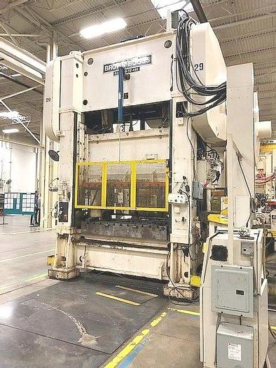 Used Press High Speed Blanking SS2-200- 72-48E