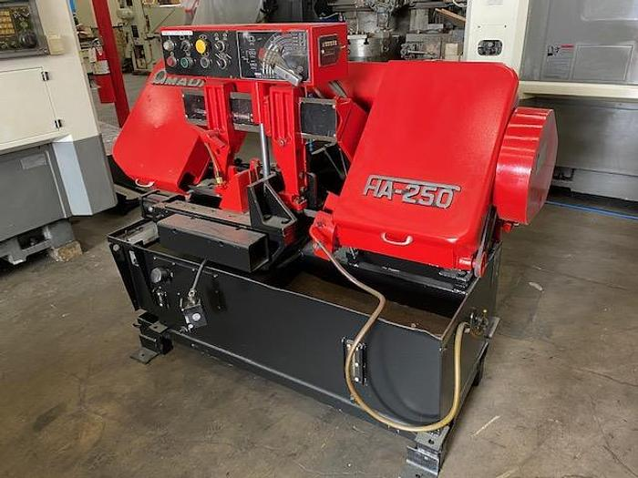 """Used 10"""" x 11"""", AMADA HA250, 5 HP, 27- 250 FPM, PROGRAMMABLE, FULLY AUTOMATIC   Our stock number: 5563"""