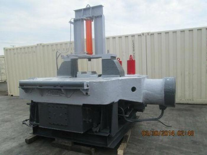 Used MASSIVE BALDWIN SOUTHWARK 200 TON HYDRAULIC IRONWORKER / BULLDOZING MACHINE