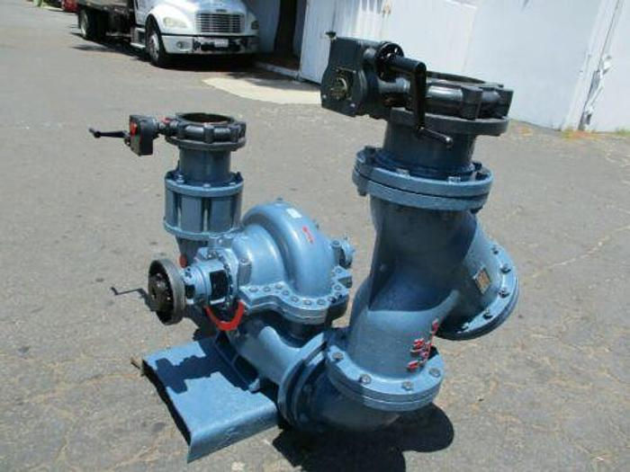 PACO / GRUNDFOS 8 INCH 1550 GPM WATER PUMP WITH EXPENSIVE VALVES AND TRAPS