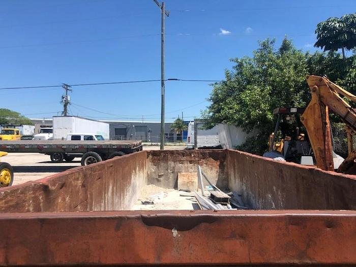 USED 20 YARD ROLLOFF DUMPSTERS CONTAINER