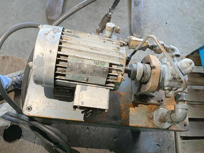 Used 5 HP Hydraulic Pump