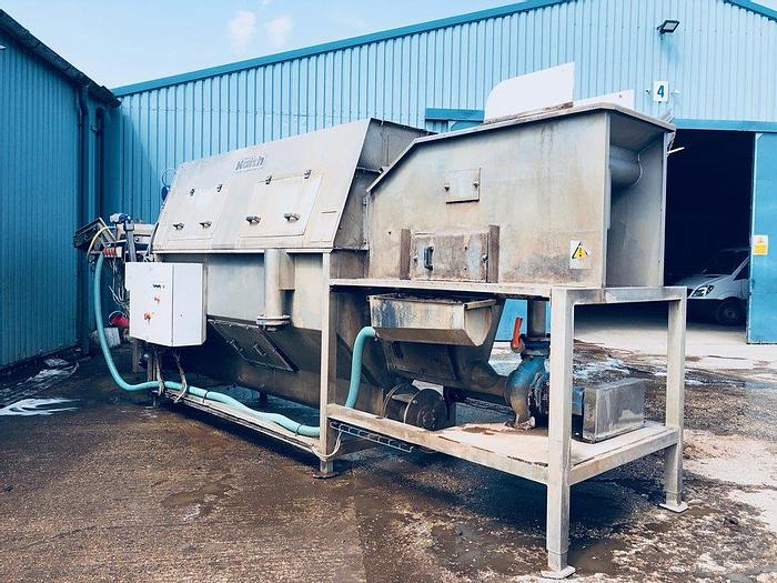 Used Haith stainless steel root veg washer