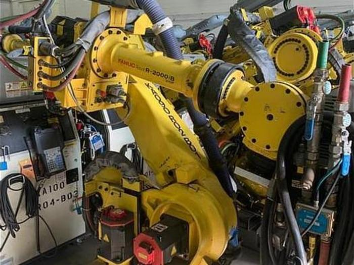 Used FANUC R2000iB/210F ROBOTS WITH R30iA CONTROLLERS (400) LOW HOUR UNITS AVAILABLE