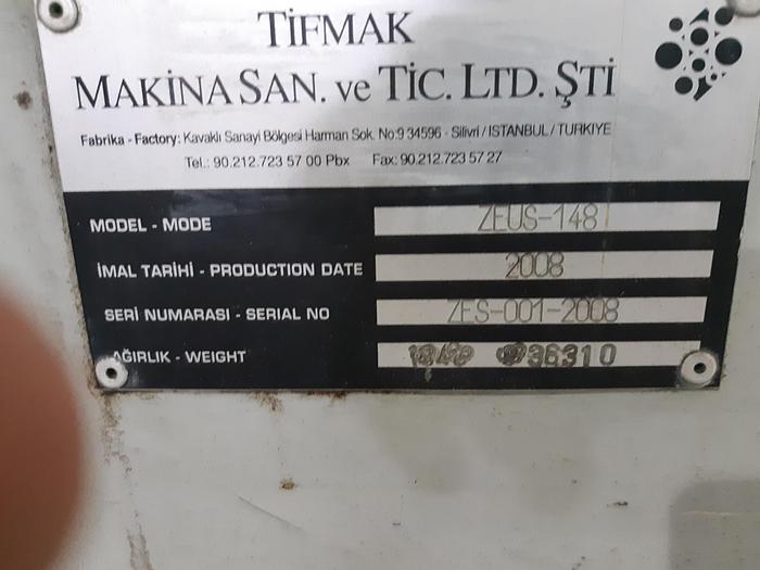 TIFMAK ZEUS 148 – 8 Colors C.I Flexo