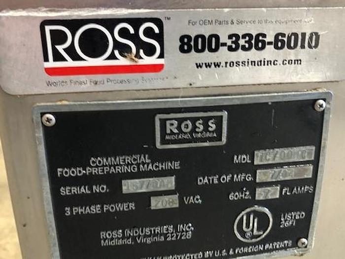 Ross Model TC 700 Meat Tenderizer