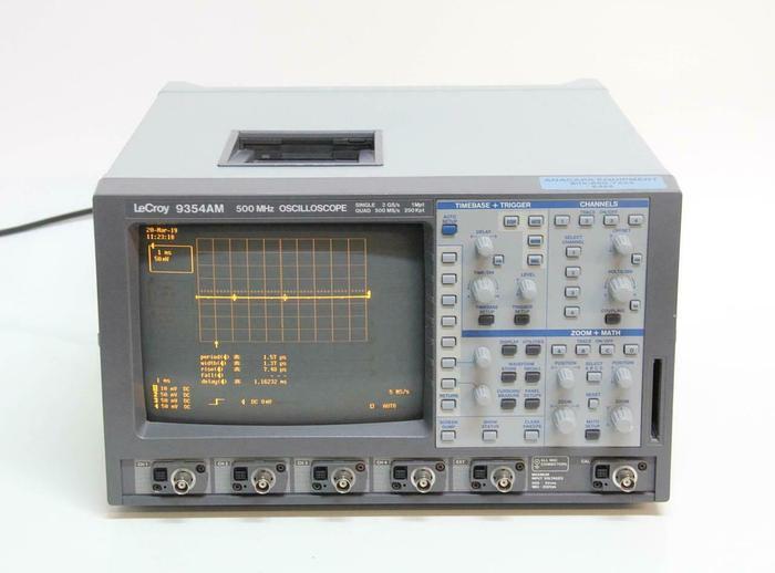 Used LeCroy 9354AM 500 MHz 4-Channel Digital Oscilloscope (6868)