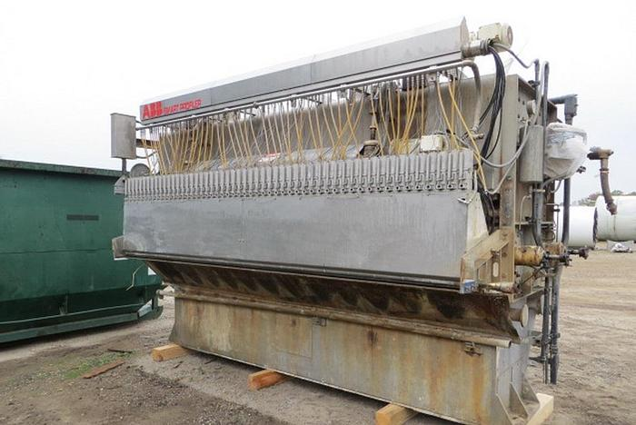 """Used 160"""" (4.06M) POND VOITH SULZER AIR PAD HEADBOX, 316, S/S, VALLEY"""