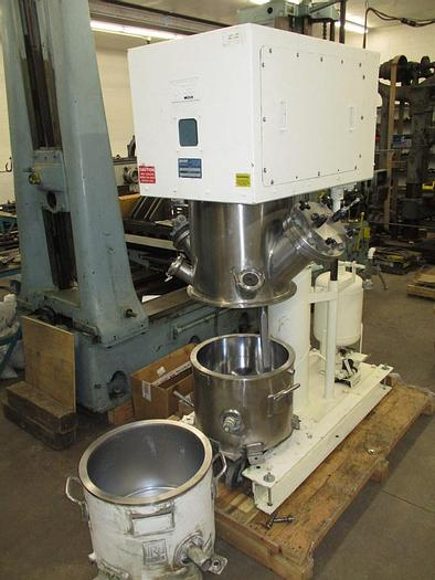 Used 10 GALLON ROSS POWERMIX MIXER – S/S – VACUUM & JACKETED (#9380)