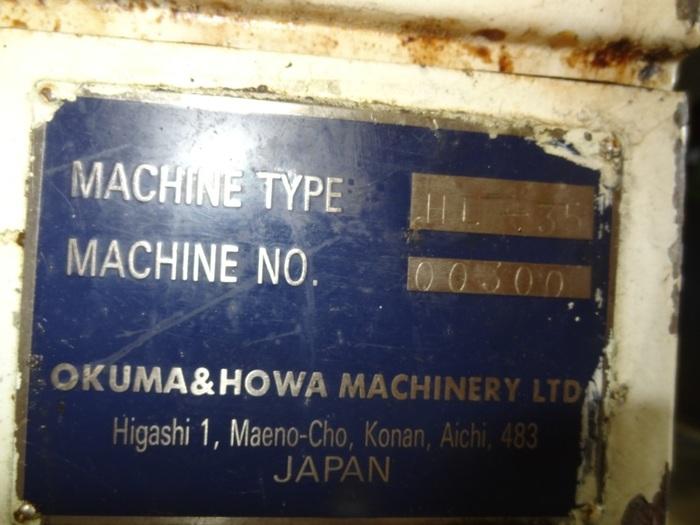 OKUMA & HOWA HL-35 CNC LATHE