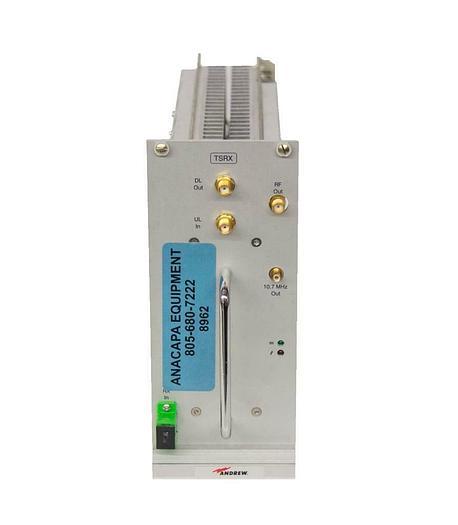 Used Commscope Andrew TSRX-244/1 ION-B IL Slave Proc/RX Receiver Module USED (8962)R