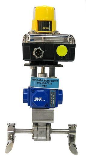 Used Intellis DeviceNet Series 7000 7644N-DV Compact H15 SR-1B2Z I/90 Actuator 6759)W