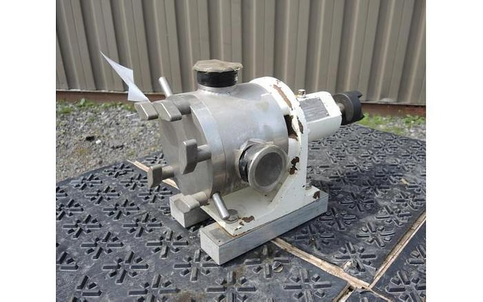 Used USED SINE POSITIVE DISPLACEMENT PUMP, MODEL MR120, STAINLESS STEEL