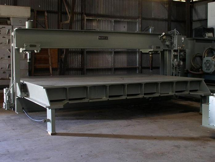 Used 150 Ton Nugier Hydraulic Straightening Press; 5-Axis Traveling Gantry Type