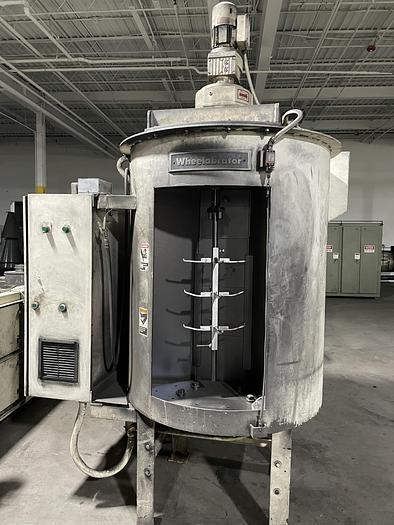 Used 2001 WHEELABRATOR WS 2/275 SPINNER HANGER SHOT BLAST MACHINE