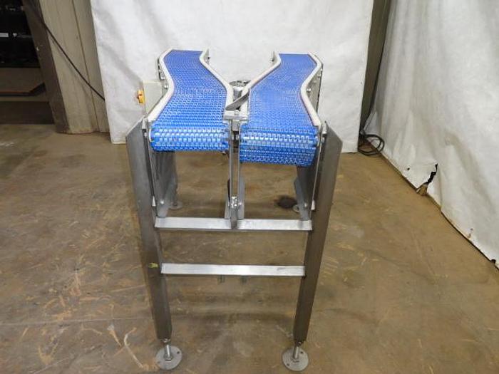 """Used Y' Belt Conveyor; 6.5""""W x 52""""L Each"""