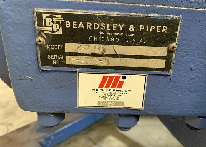 BEARDSLEY & PIPER 100B-250 GEAR BOX