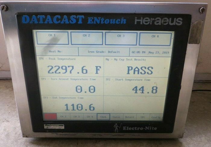 HERAEUS DATACAST EN TOUCH THERMAL ANALYSIS (On Hold)