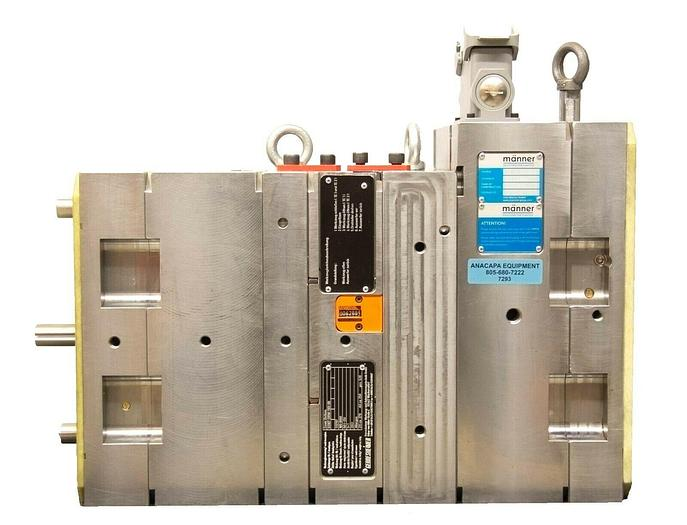 Used Gerresheimer Otto Männer GmbH Injection Molding Assembly Mold 230V USED (7293)R