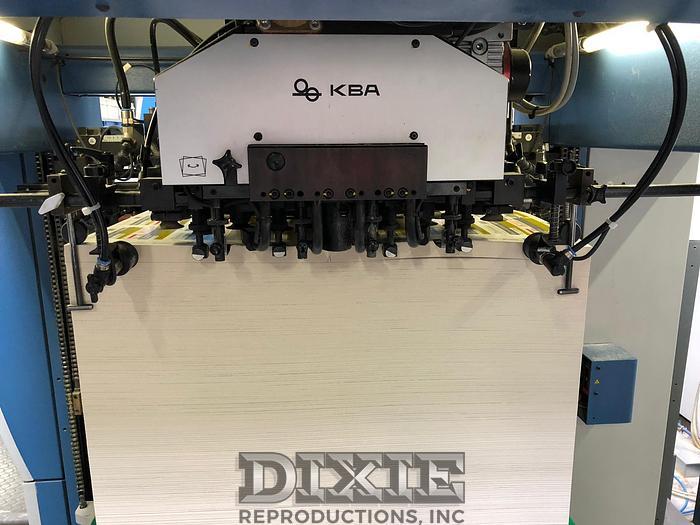 Used 2010 KBA Rapida 106-6+L CX FAPC ALV3