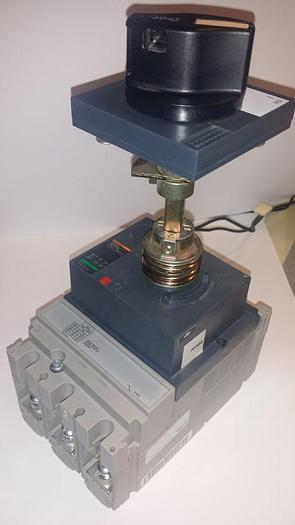 Gebraucht Elektrical Circuit breaker, Hauptschalter NS100-160-250 N/ H/ NA, Merlin Gerin
